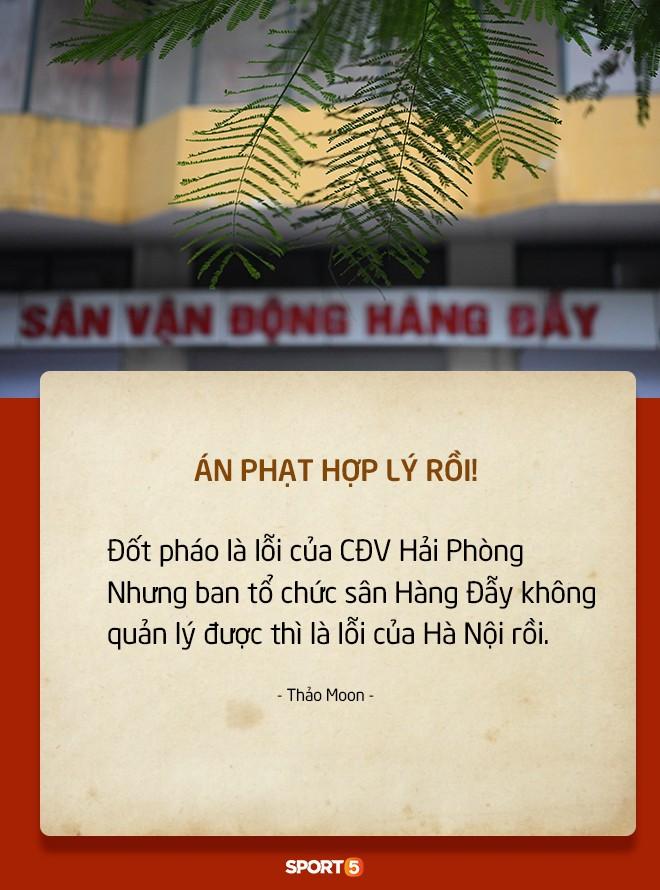 Fan Việt tranh cãi nảy lửa chuyện sân Hàng Đẫy bị treo vì CĐV Hải Phòng đốt pháo sáng-3