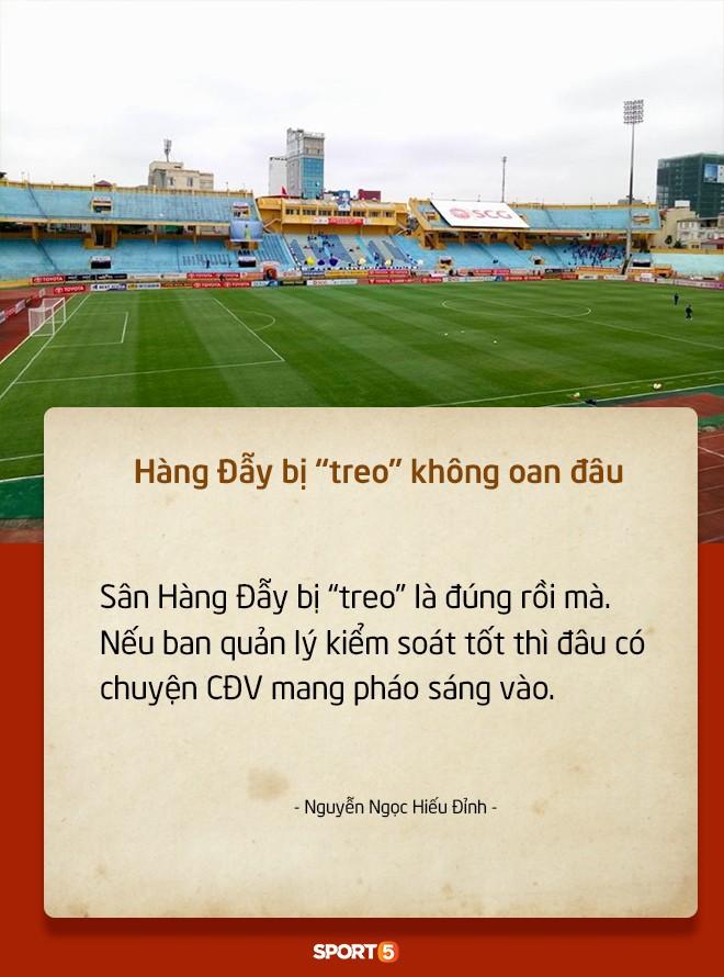 Fan Việt tranh cãi nảy lửa chuyện sân Hàng Đẫy bị treo vì CĐV Hải Phòng đốt pháo sáng-4