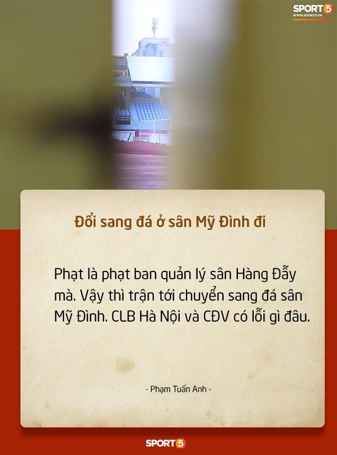 Fan Việt tranh cãi nảy lửa chuyện sân Hàng Đẫy bị treo vì CĐV Hải Phòng đốt pháo sáng-6