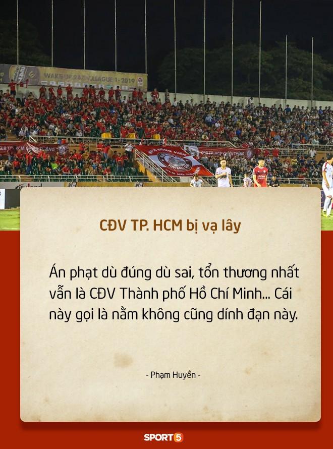 Fan Việt tranh cãi nảy lửa chuyện sân Hàng Đẫy bị treo vì CĐV Hải Phòng đốt pháo sáng-7