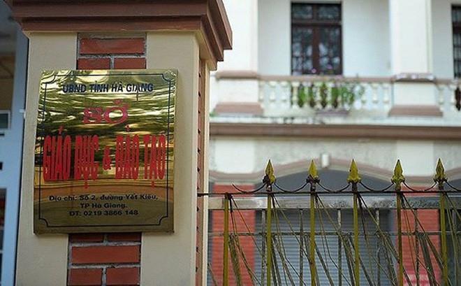 Vụ 3 tỉnh gian lận thi cử: Thí sinh ở Hà Giang được nâng 29,95 điểm-1