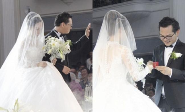 Dàn sao phía Bắc nô nức đến dự đám cưới hoành tráng của NSND Trung Hiếu và vợ trẻ kém gần 2 giáp-9