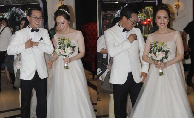Dàn sao phía Bắc nô nức đến dự đám cưới hoành tráng của NSND Trung Hiếu và vợ trẻ kém gần 2 giáp-1