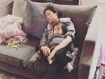 Cuộc sống vất vả của vợ Lam Trường khi một mình chăm con-11