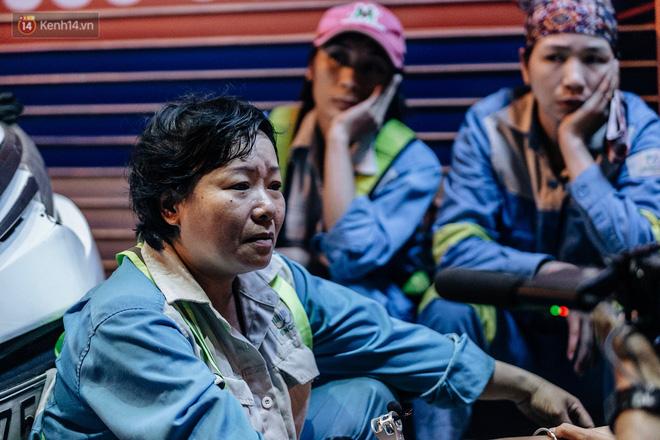 Sự ra đi của nữ công nhân môi trường và nỗi ám ảnh người ở lại: Những phận đời phu rác bám đường phố Hà Nội mưu sinh-20