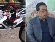 'Người phán xử' Hoàng Dũng bị chụp ảnh đi xe máy không đội mũ bảo hiểm