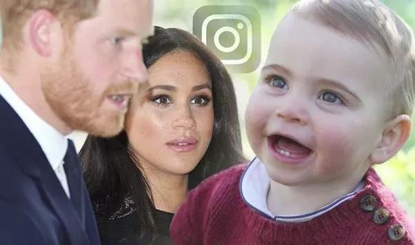 Vợ chồng Meghan bị người dùng mạng chỉ trích vì một câu nói thiếu tôn trọng Hoàng tử Louis, con út chị dâu Kate-3