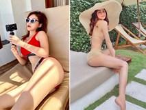 Đầu hè nắng nóng, dàn người đẹp Việt rủ nhau diện bikini sexy đi biển