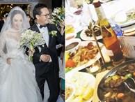 'Ông Tích' Trung Hiếu lấy vợ xinh kém 19 tuổi, đãi khách toàn món ăn nghe đã thấy kiêu sa!
