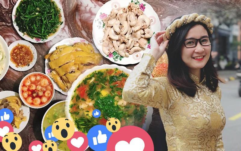 Cô sinh viên 22 tuổi nấu cơm đảm đang thế này, bảo sao MXH rần rần ngưỡng mộ-1