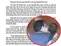 (NÓNG) Nguyễn Hữu Linh sàm sỡ bé gái: Vợ gửi tâm thư đau đớn