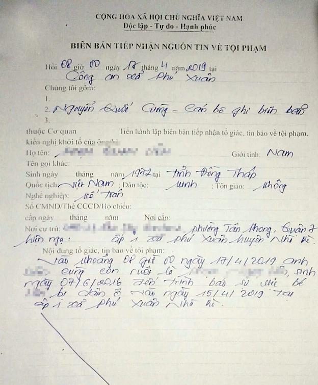 Nghi án ông già 70 tuổi dâm ô bé gái 3 tuổi ở Sài Gòn: Nhiều lần nhận dạng đúng người-2