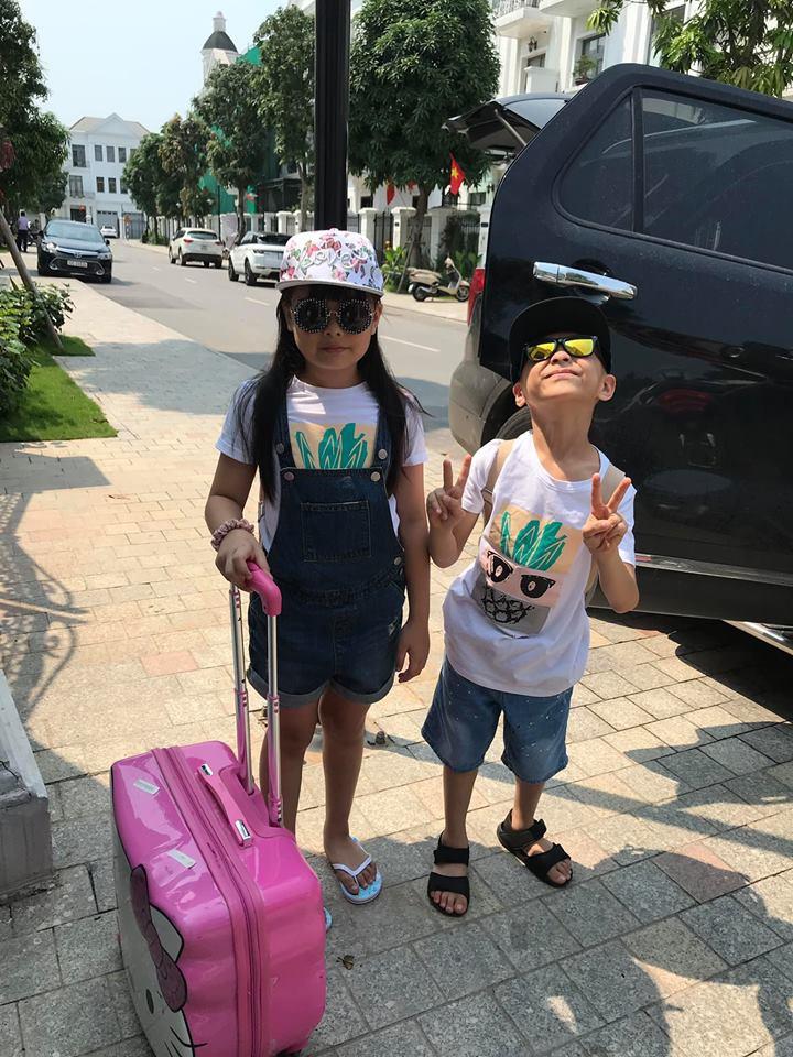 Đi trốn tận resort sang chảnh ở Đà Nẵng, đại gia đình Hằng Túi gây choáng với đội hình 10 thành viên ríu rít xếp hàng-9