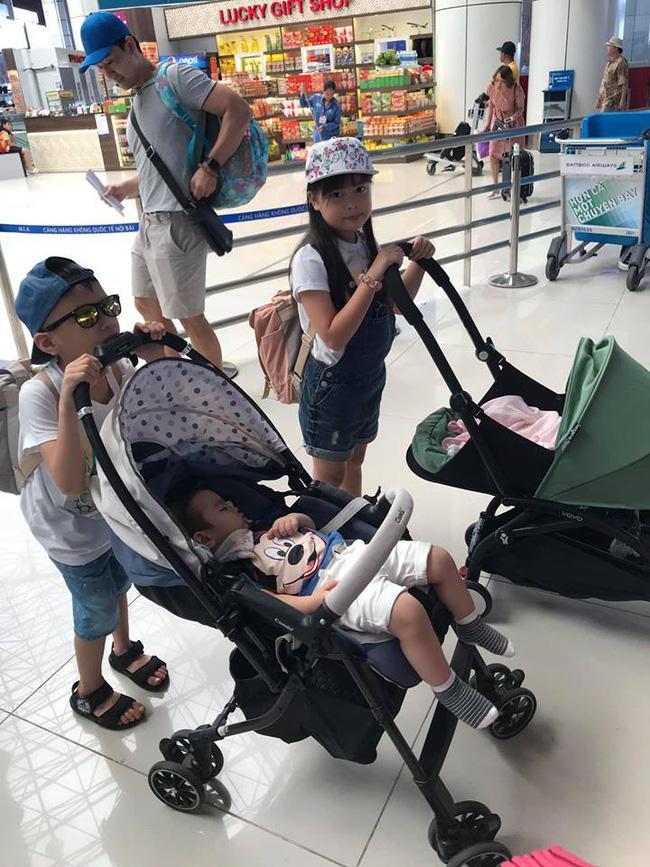 Đi trốn tận resort sang chảnh ở Đà Nẵng, đại gia đình Hằng Túi gây choáng với đội hình 10 thành viên ríu rít xếp hàng-3