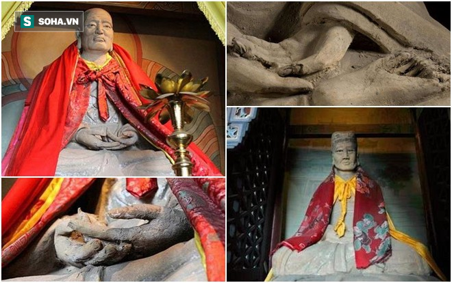 Giai thoại kỳ bí về ngôi miếu kỳ dị nhất TQ: Bên trong mỗi pho tượng là 1 thân người!-2