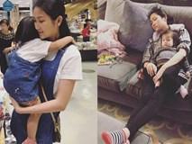 Cuộc sống vất vả của vợ Lam Trường khi một mình chăm con