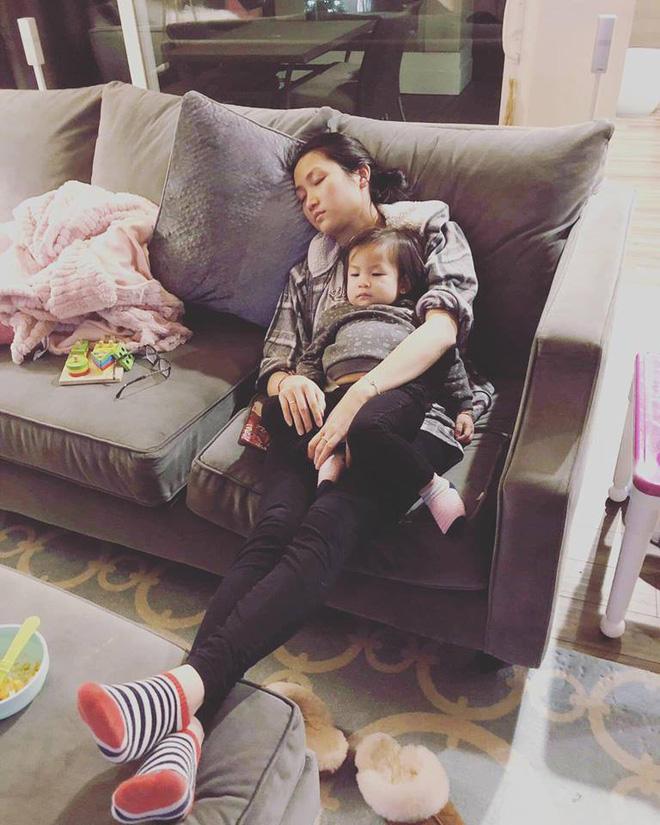 Cuộc sống vất vả của vợ Lam Trường khi một mình chăm con-2