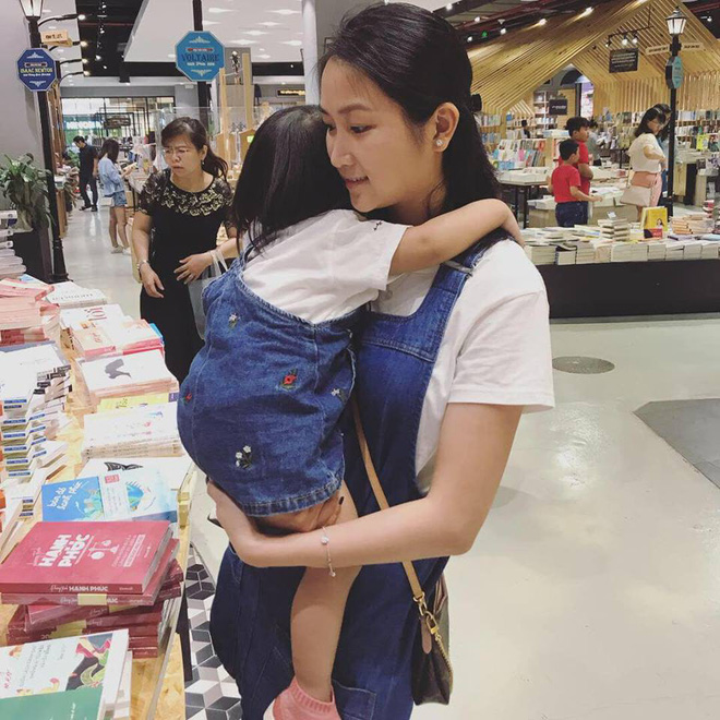 Cuộc sống vất vả của vợ Lam Trường khi một mình chăm con-6