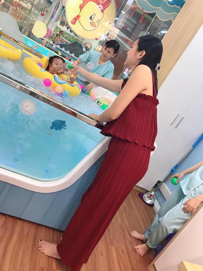 Cuộc sống vất vả của vợ Lam Trường khi một mình chăm con-4