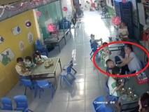 Cô giáo mầm non tát liên tục vào mặt bé trai khi đang cho ăn ở Long An: Đình chỉ công tác, nhà trường tới xin lỗi gia đình