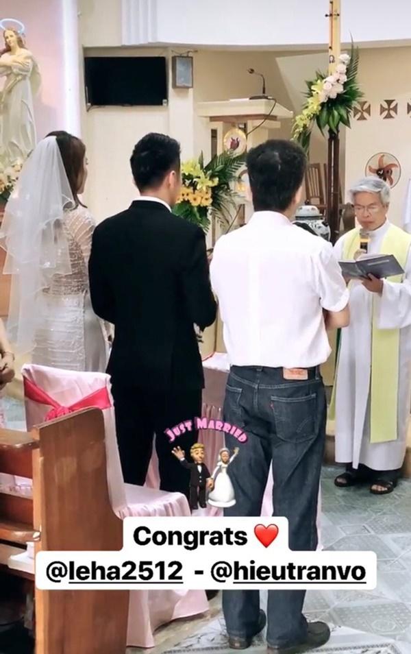 Một năm sau khi sinh con gái đầu lòng, Lê Hà (The Face) và ông xã điển trai như tài tử tổ chức đám cưới-1