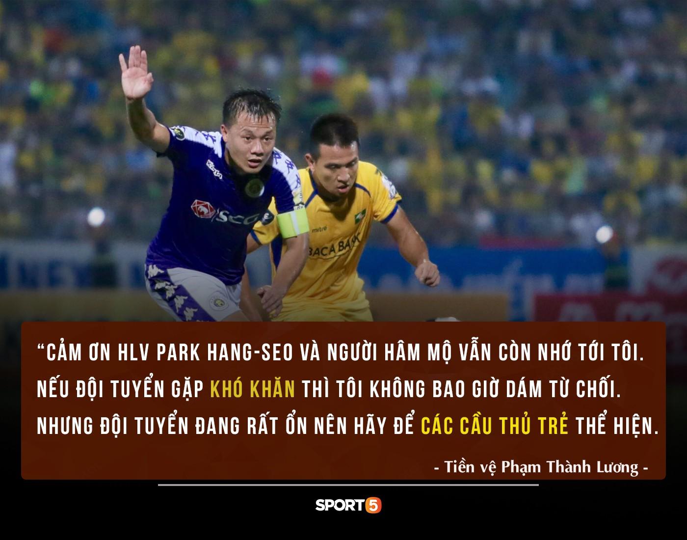 HLV Park mời Thành Lương quay lại đội tuyển Việt Nam và đây là câu trả lời của anh khiến người người cảm động-1