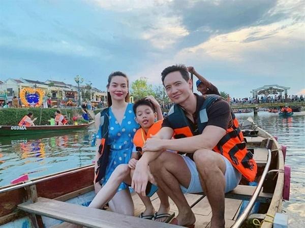 Giữa tin đồn mang thai, Hồ Ngọc Hà hạnh phúc cùng Kim Lý và con trai đi du lịch như một gia đình-2