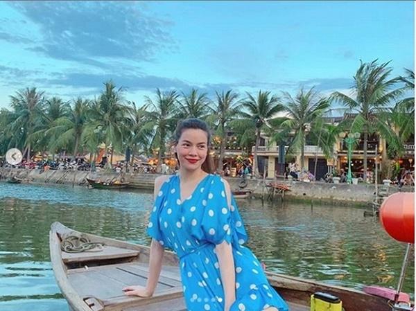 Giữa tin đồn mang thai, Hồ Ngọc Hà hạnh phúc cùng Kim Lý và con trai đi du lịch như một gia đình-3