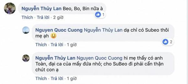 Cường Đôla đưa con riêng đi chơi cùng Đàm Thu Trang, đây là phản ứng của mẹ vợ tương lai-4