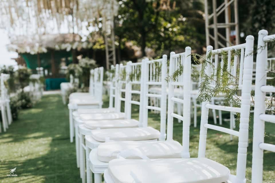 Đám cưới xa hoa của con gái bầu Đệ và người mẫu bên biển Thanh Hóa-6