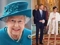 Nữ hoàng bất ngờ làm điều này trước ngày Công nương Meghan hạ sinh con đầu lòng