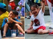 Thảo Cầm Viên vỡ trận, trẻ nhỏ gào khóc, ngồi gặm bánh mì chen chúc nhau giữa trời nắng 40 độ