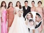 Ngắm bộ váy cưới Lọ Lem trị giá 400 triệu của Lê Hà, nhưng dân tình lại mê mẩn bộ váy trắng của công chúa tí hon bên cạnh cô-8