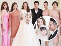 Ngọc Trinh cùng dàn mỹ nhân Vbiz nổi bật nhưng chưa chiếm spotlight bằng con gái tròn 1 tuổi trong đám cưới Lê Hà