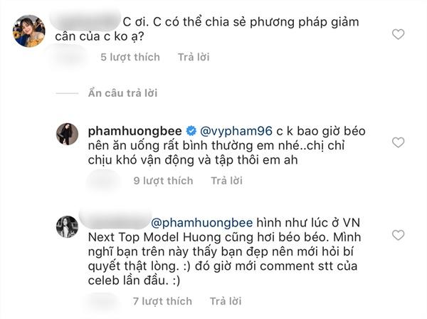 Phạm Hương đáp trả cực kỳ căng thẳng dù fan lễ phép hỏi bí quyết giảm cân-2
