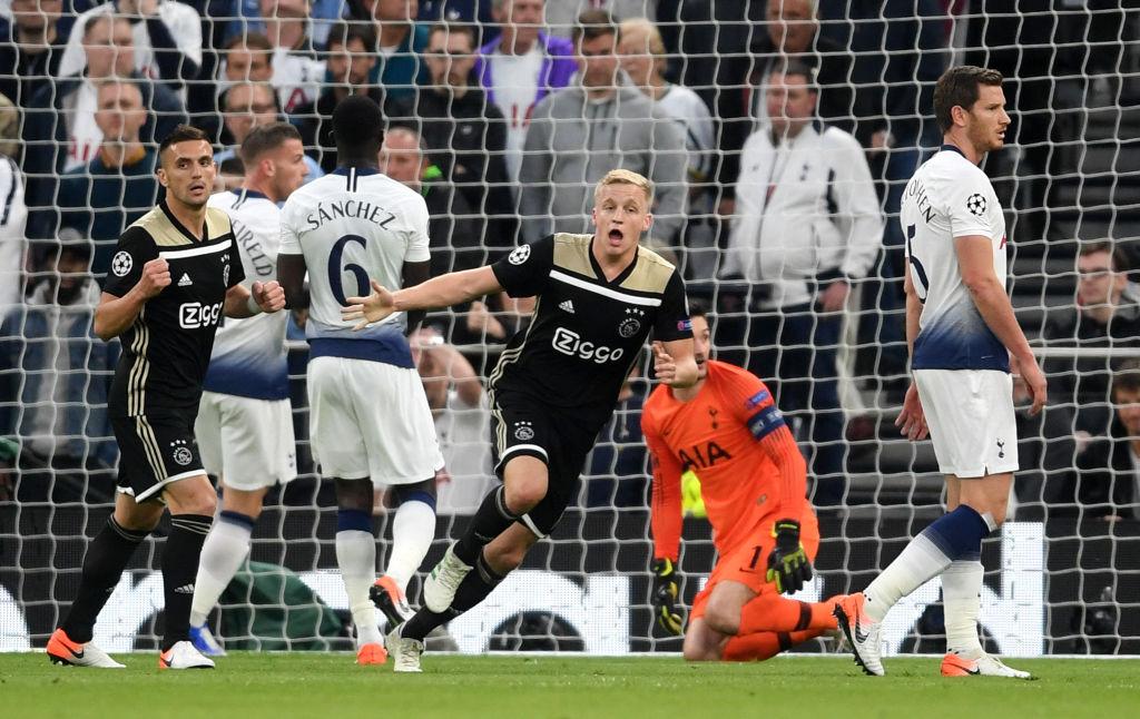Tottenham 0-1 Ajax: Vắng Son Heung-min, Tottenham bế tắc và chịu thất bại ngay trên sân nhà-1