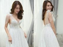 Ngắm bộ váy cưới
