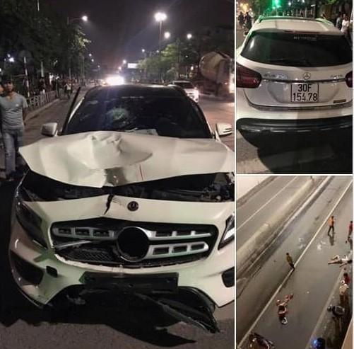 Tài xế Mercedes gây tai nạn ở hầm Kim Liên hoảng sợ khi biết tin 2 người chết-1