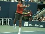Federer thể hiện tuyệt kỹ trong ngày cán mốc 1.200 trận thắng-1