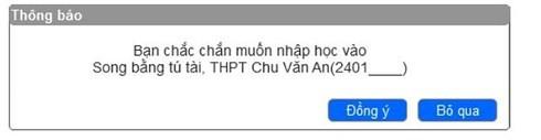 Cách thức xác nhận nhập học trực tuyến vào lớp 10 tại Hà Nội-4