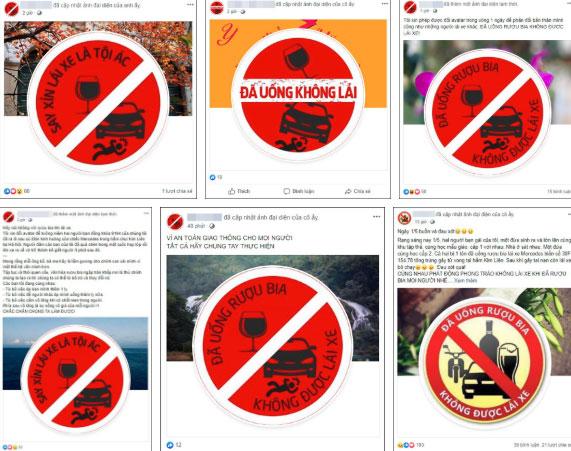 Sau tai nạn thương tâm ở hầm Kim Liên, cộng đồng mạng đồng loạt thay avatar Facebook với thông điệp: Say xỉn lái xe là tội ác!-4