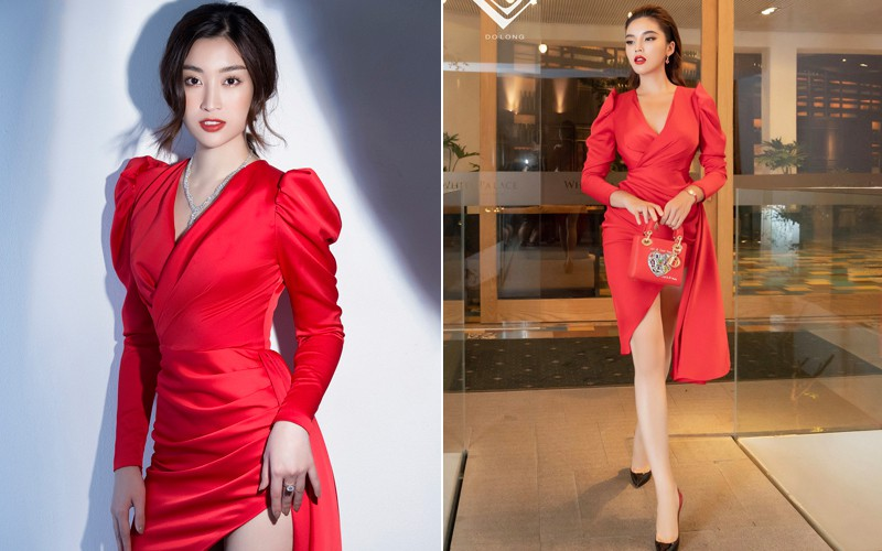 Váy từng phải nới rộng vì siêu vòng 3 của Đỗ Mỹ Linh có chủ nhân mới-1