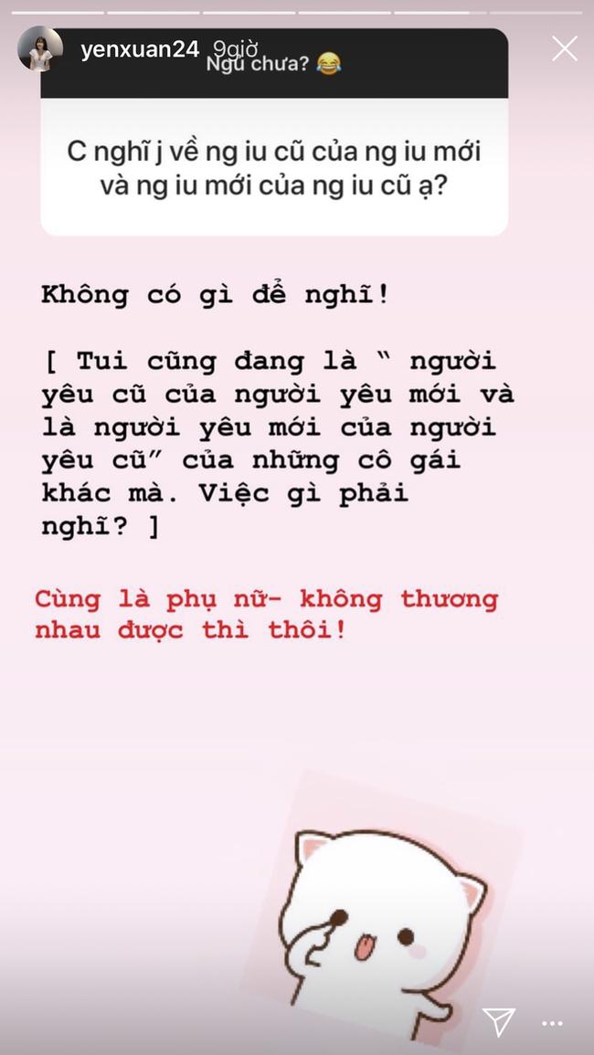 Bị hỏi về ex của bạn trai, người yêu Lâm Tây tuyên bố: Cùng là phụ nữ, không thương nhau được thì thôi!-2