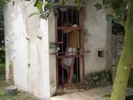 Cận cảnh chiếc chuồng của người bố 'nhốt' con trai như vật nuôi, đầy ruồi muỗi và hôi thối được bạn bè 'giải cứu' ở Hưng Yên