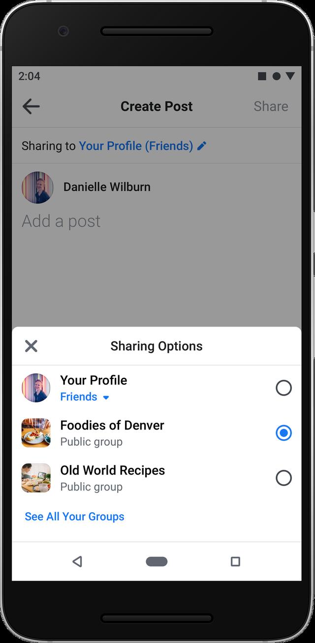Facebook ra mắt giao diện hoàn toàn mới trên nền web và ứng dụng di động-7