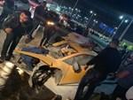 Xót xa siêu xe Lamborghini Huracan độ Mansory của đại gia Nha Trang nằm phủ bụi kín đặc-4