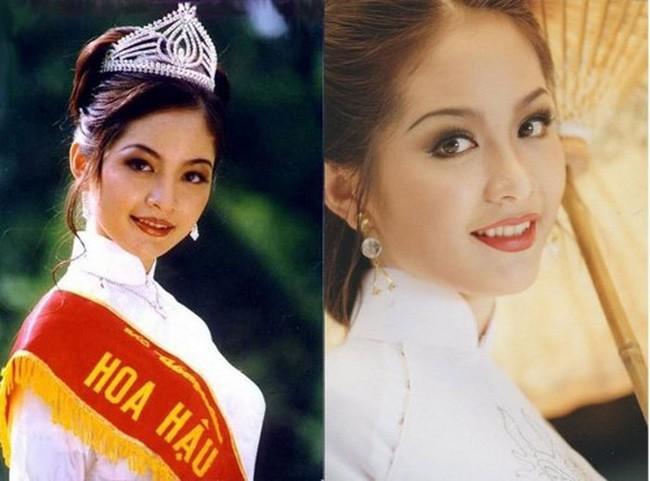 Hoa hậu Thiên Nga: Tiểu thư cành vàng 2 lần đăng quang Hoa hậu, lấy chồng giáo sư đại học Mỹ nhưng phải chịu nhiều bất hạnh nghiệt ngã-1