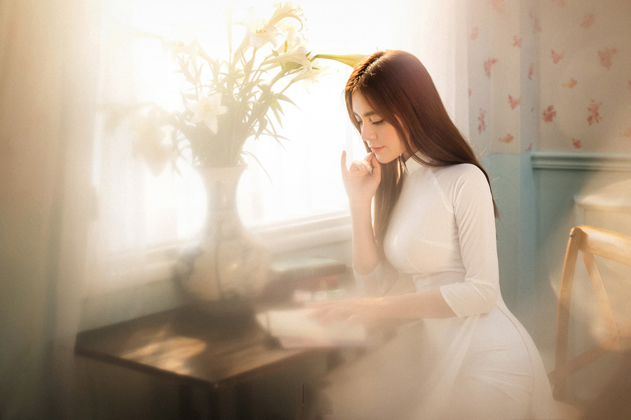 Hình ảnh bất ngờ của gái ngành phim Quỳnh Búp Bê-8