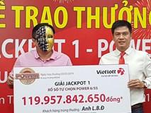 Đại gia Cà Mau trúng độc đắc Vietlott gần 120 tỷ