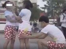 Đã tụt quần bạn nữ khi chụp ảnh kỷ yếu còn quay clip, nam sinh bị ném đá không trượt phát nào